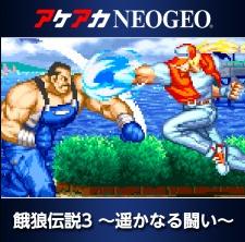 アケアカNEOGEO 餓狼伝説3 ~遙かなる闘い~